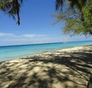 A secluded beach we found in Grand Turk