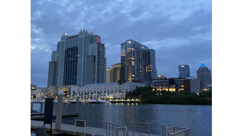 Beautiful downtown Tampa, FL