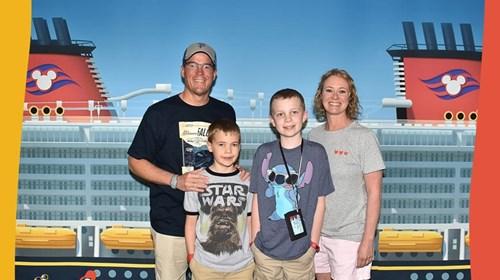 Disney Cruise on the Dream