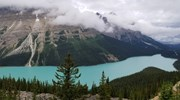 Peyto Lake, Icefields Parkway in Canada