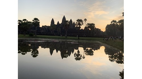 Sunrise over Angor Wat Cambodia