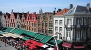 The Markt in Brugge Belgium