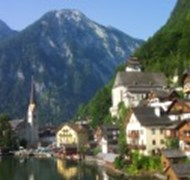 Traveling to Halstatt, Austria on my tour of Germa