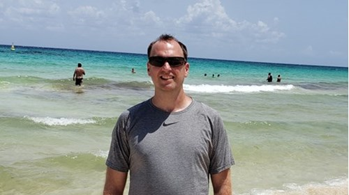 Overlooking Cancun Beach