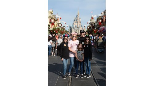Happiest Place on Earth with the ones I love