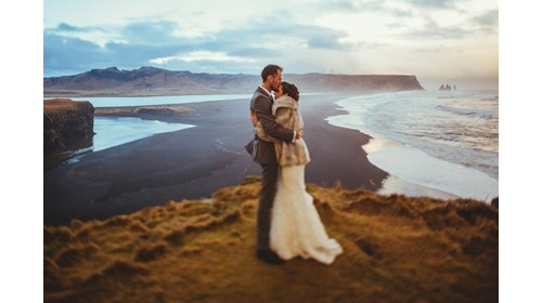 Our elopement in Iceland.
