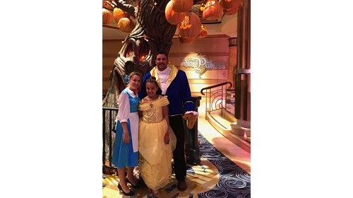 Halloween on the high seas - Disney Dream 2019