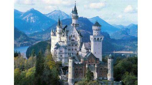Majestic Neuschwanstein Castle in Germany