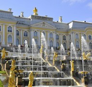 My visit to Peterhof Palace outside St. Petersburg