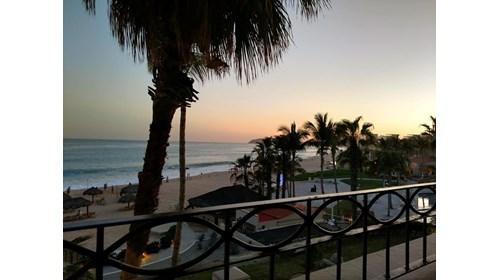 Balcony view from Dreams Los Cabos!