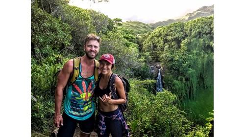 Derek and Krystle in Maui!!!
