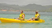 Kayaking at the Sandals Grande St. Lucian