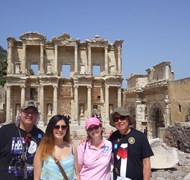 Cruise-Girl Travel took a group of 25 to Ephesus