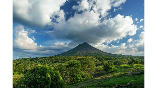Beautiful Arenal Volcano in Costa Rica