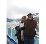 Cruising Glacier Bay onboard Princess