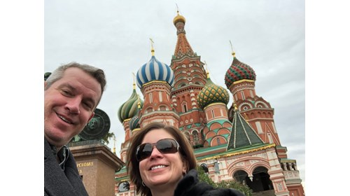 St Basils Red Square Moscow - Michael & Kelly G