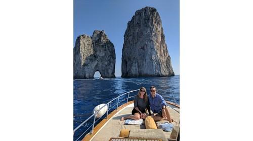 Capri's Faraglioni, Italy