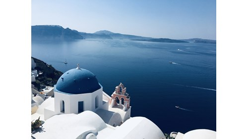 Cruise to the Greek Isles - Oia, in Santorini
