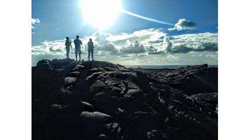 Lava Field in Pahoa, HI