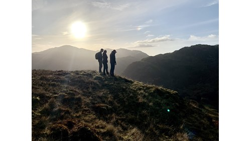 Hiking experience, Lake District, UK - Nov 2019