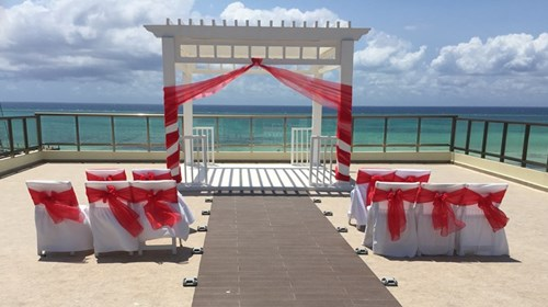 Destination Wedding on the beach.