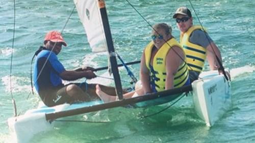Sailing in Montego Bay