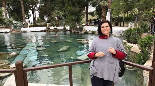 Baños reales de Cleopatra en Turquía