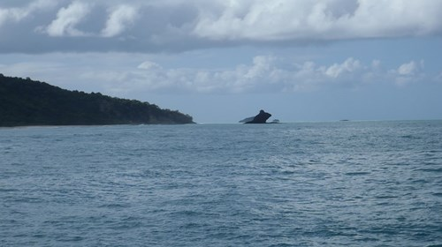 Dolphin Rock in Antigua