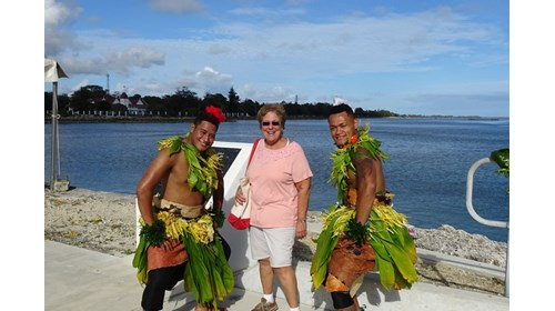 Having fun in Tonga