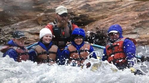 What a Rush! Water rafting in Alaska.