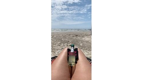 Mustang Island Beach, Port Aransas, Texas