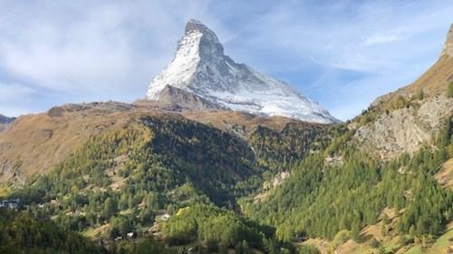 View of the Matterhorn from Zermatt, Switzerland