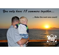 You only have 18 summers together... Make the next