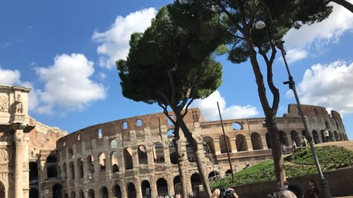 Coliseum Rome Italy October 2019
