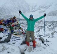 I made it to Everest Base Camp! YEAH!