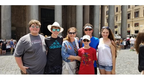 Rome with the Fam