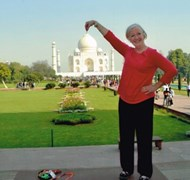 The Taj Mahal - one of the New 7 Wonders of the Wo