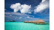 Over the Water Bungalows in Paradise