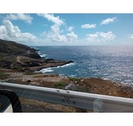 Driving around in beautiful Oahu Hawaii