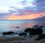 Aloha - Maui Sunset by Carol Boyce