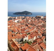 I walked the medieval walls of Dubrovnik on a glor