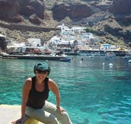 Santorini Greece where the movie Sisterhood of the