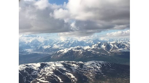 View of Denali (courtesy of Denali National Park)