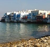 Little Italy on Mykonos Island - Cruise 2015