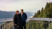 On top of the world in Lucerne Switzerland