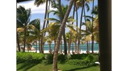 Soft white sand beach in Punta Cana, DR