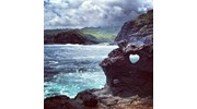 The Heart Rock in Maui