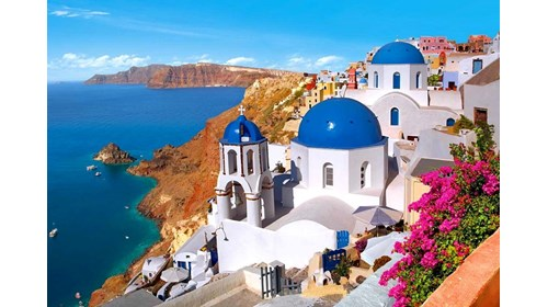 Idyllic Greek Islands in the Eastern Mediterranean