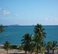 View of Caja de Muertos Island.  30 minute boat ri