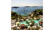 The stunning Adriatic Sea in Hvar, Croatia.